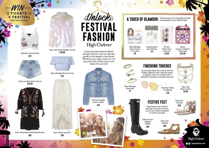 Unlock Festival Fashion at High Chelmer
