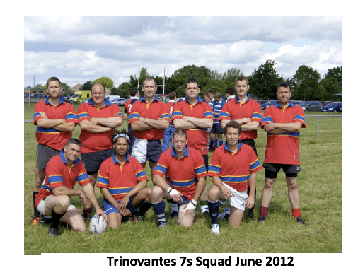 Trinovantes 7s Squad June 2012