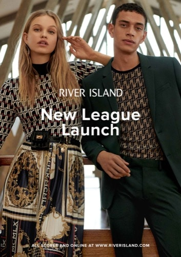 New League Launch at River Island