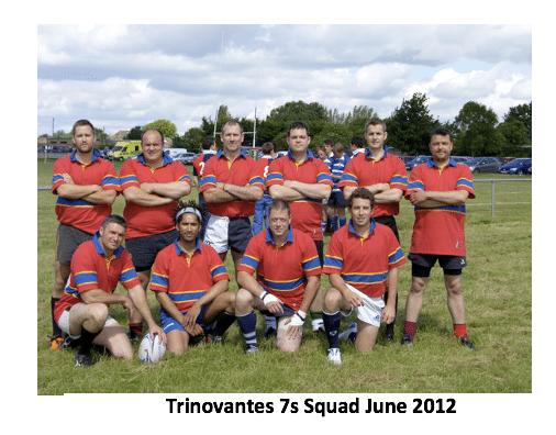Trinovantes 7s Squad June 2012
