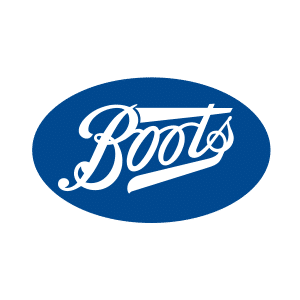 Boots, Open today: 8.30am - 6pm